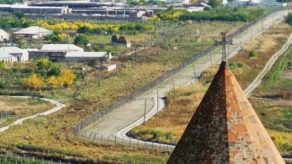 Граница между Турцией и Арменией - Sputnik Polska