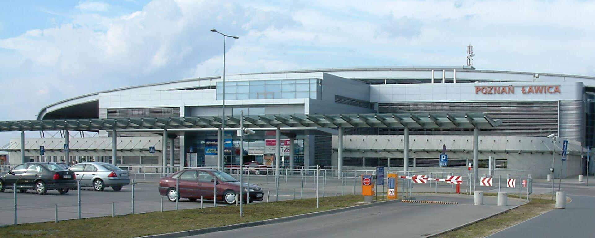 Lotnisko w Poznaniu - Sputnik Polska, 1920, 04.09.2021