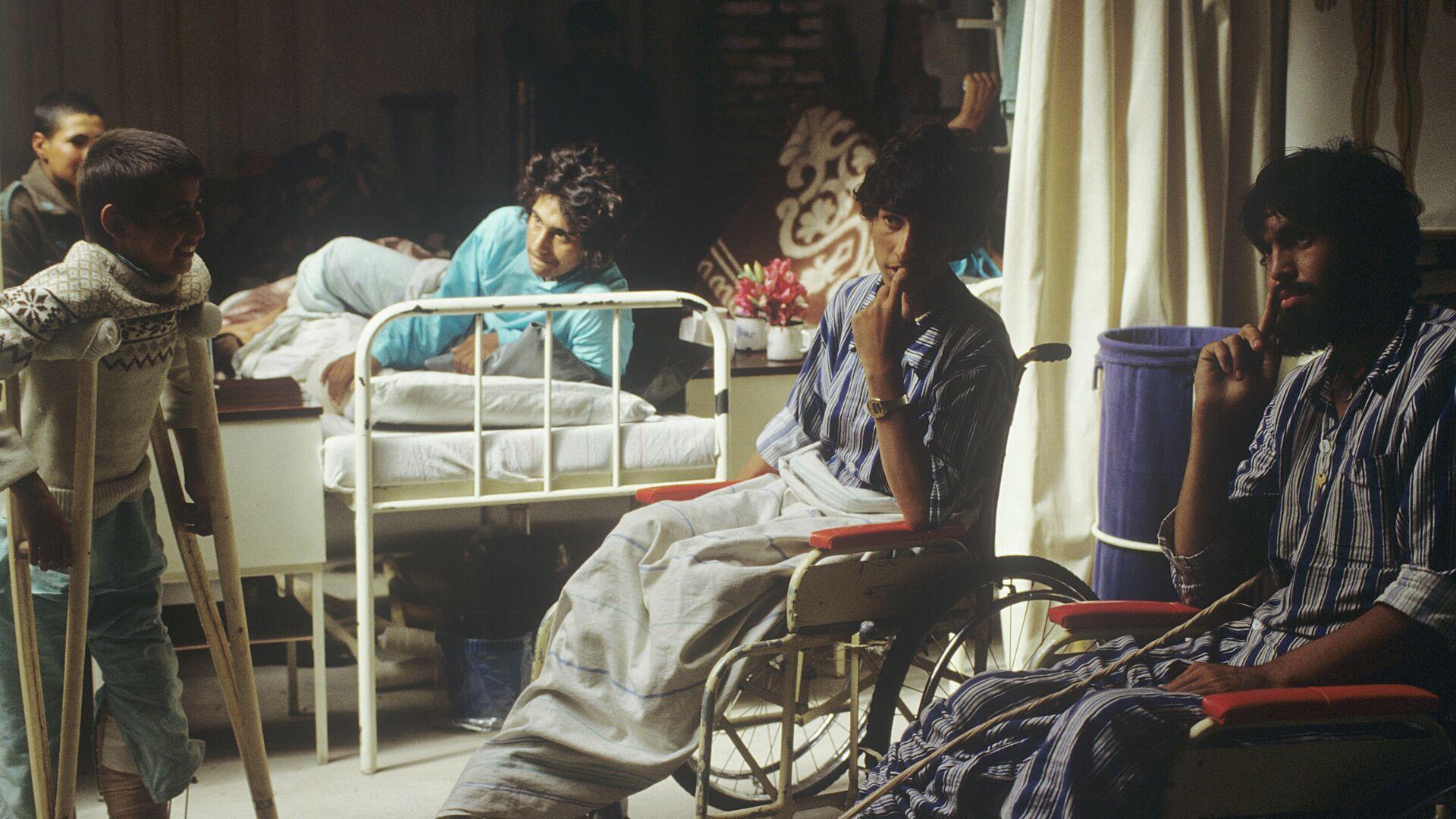 Republika Afganistanu (Islamska Republika Afganistanu). W szpitalu w Kabulu. - Sputnik Polska, 1920, 06.09.2021
