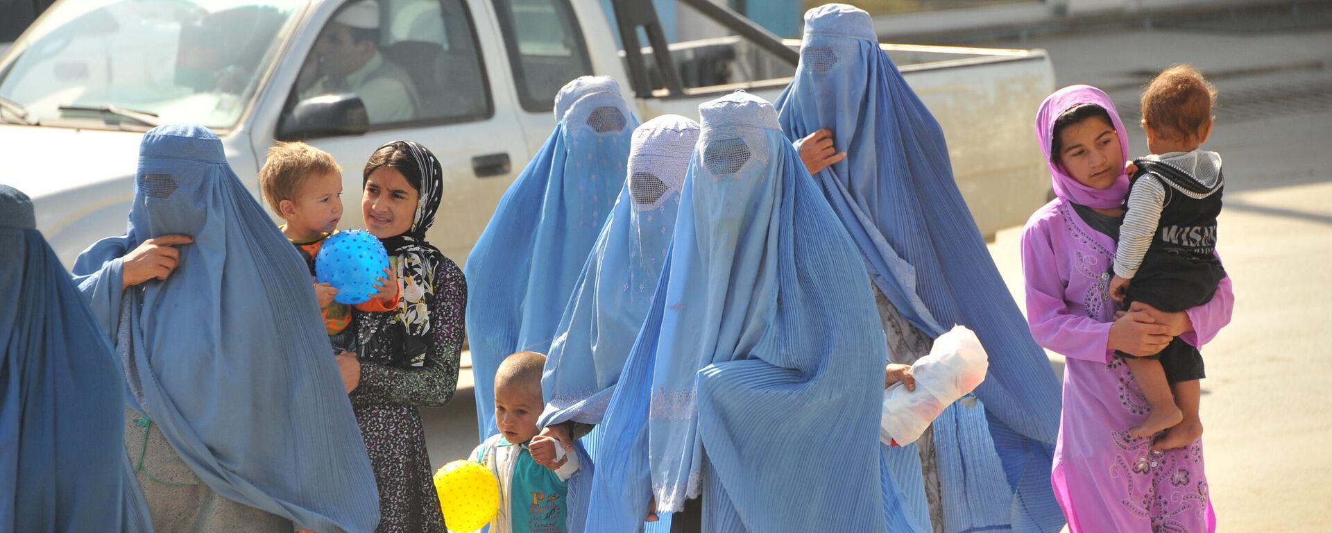 Afgańskie kobiety. Islamska Republika Afganistanu - Sputnik Polska, 1920, 24.09.2021