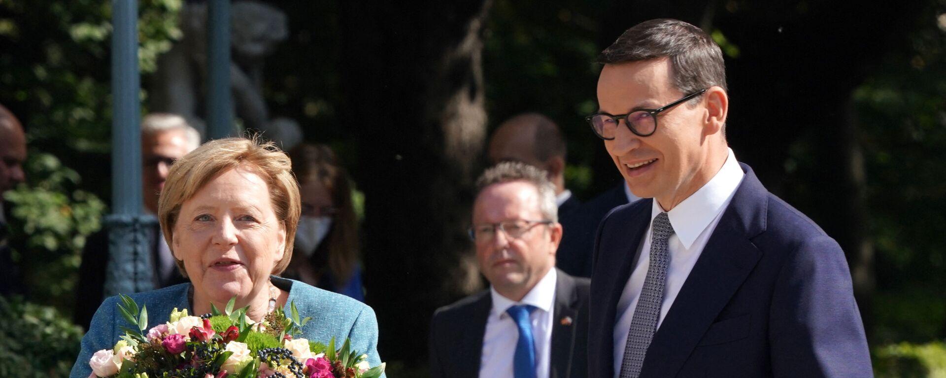Spotkanie Angeli Merkel i Mateusza Morawieckiego - Sputnik Polska, 1920, 17.09.2021