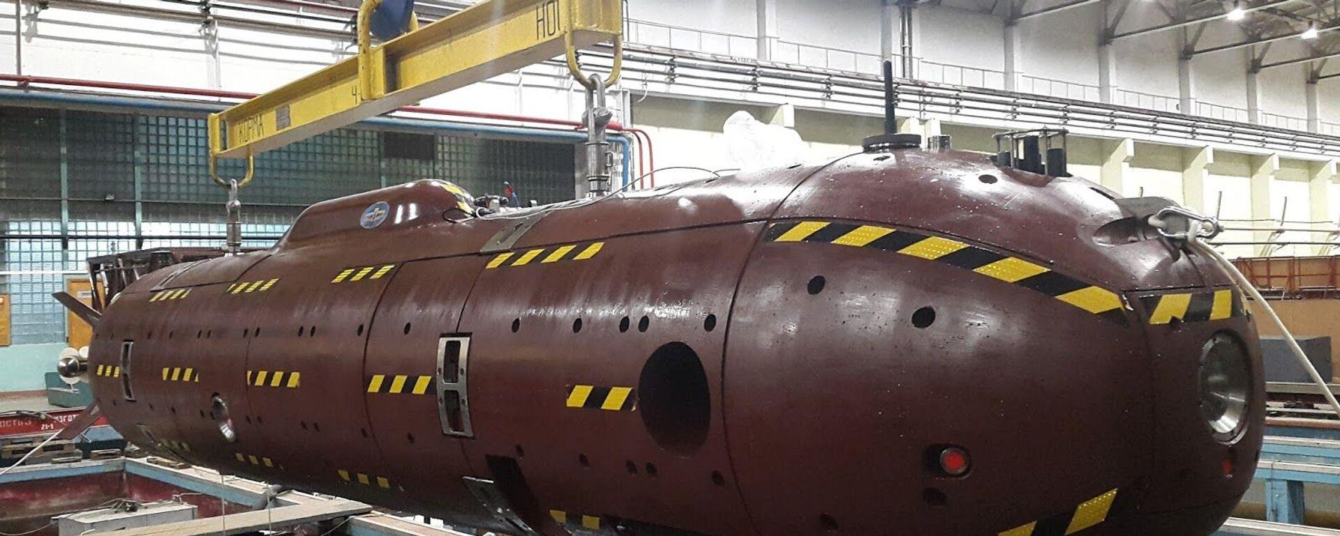Niezamieszkany okręt podwodny Klawesyn-2P-PM - Sputnik Polska, 1920, 12.09.2021