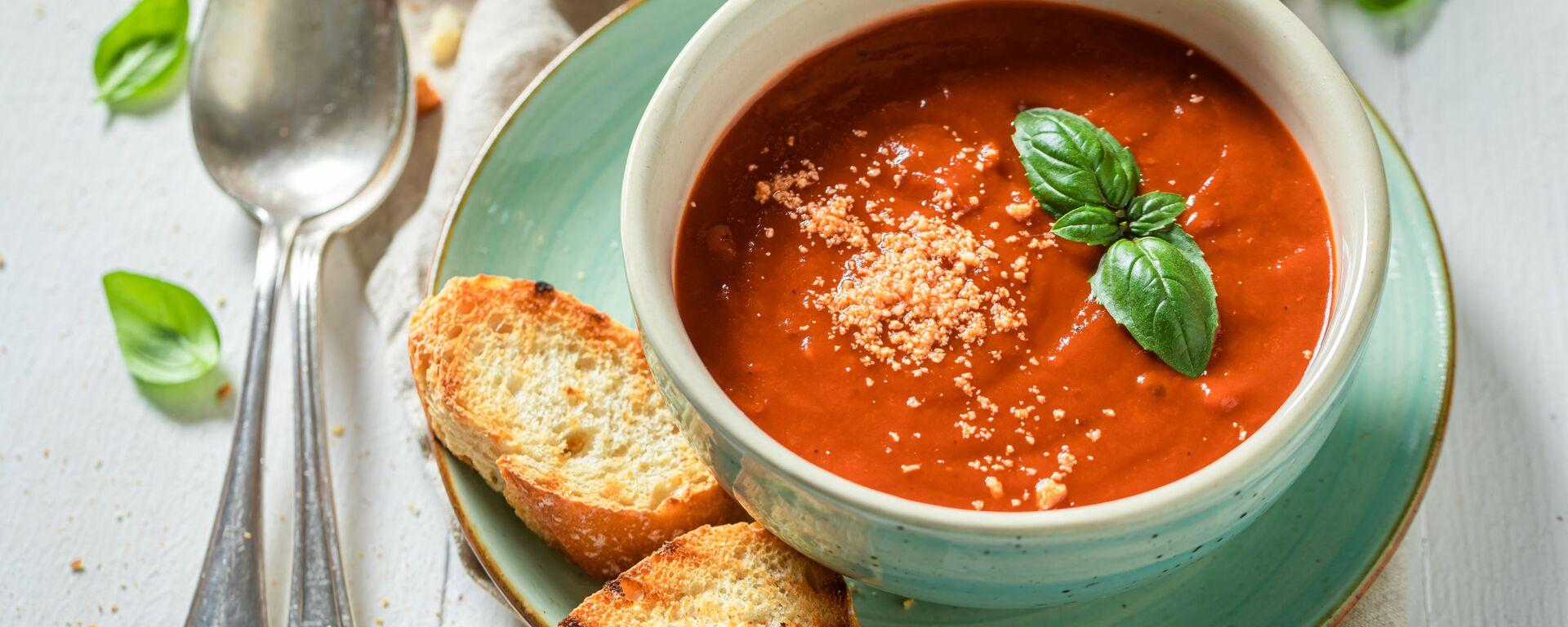 Zupa pomidorowa - Sputnik Polska, 1920, 13.09.2021