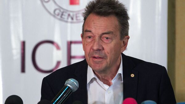 Президент Международного комитета Красного Креста Питер Маурер - Sputnik Polska
