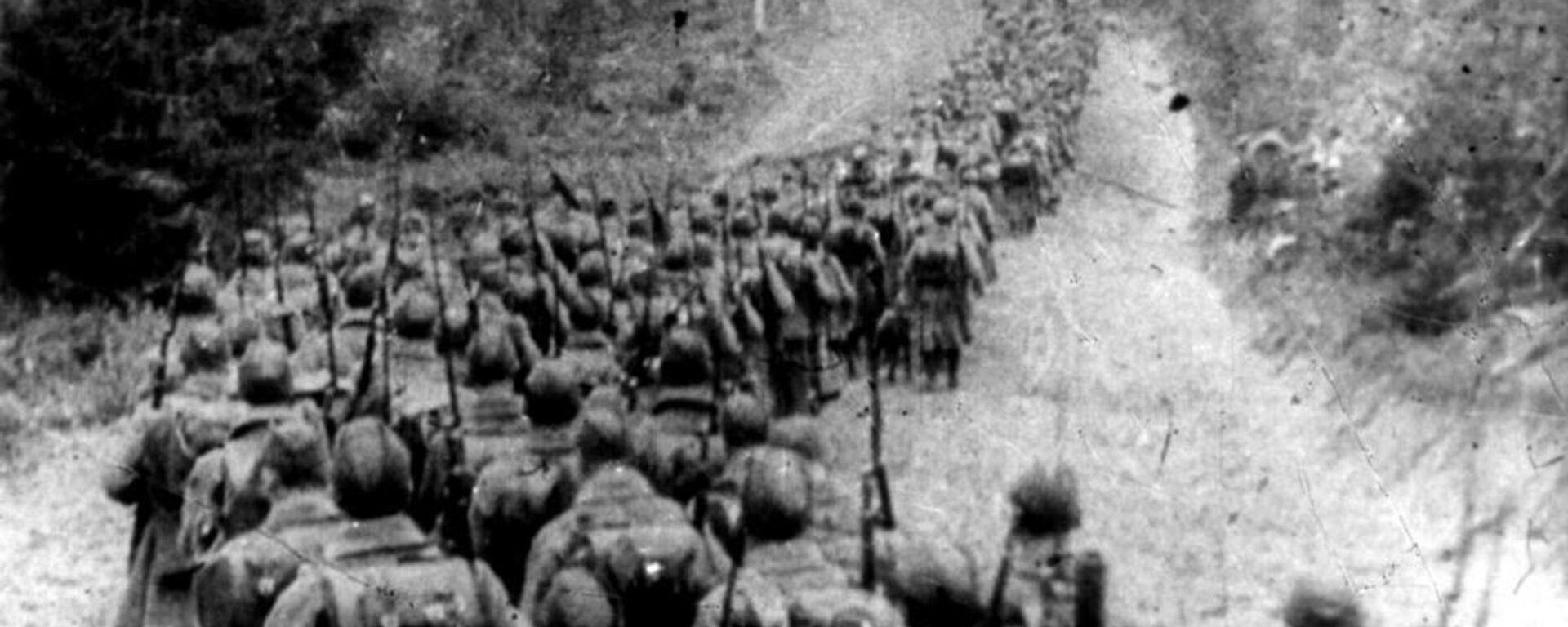 Radzieckie wojska przekraczają granicę Polski, 1939 rok - Sputnik Polska, 1920, 17.09.2021
