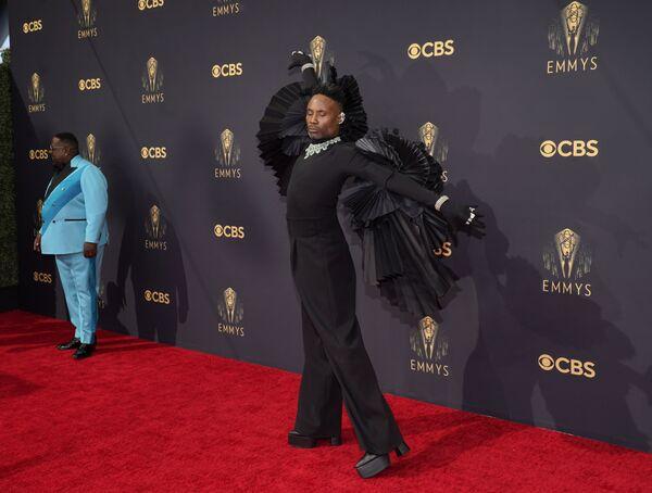 Cedric The Entertainer i Billy Porter przybywają na 73. ceremonię rozdania nagród Emmy - Sputnik Polska
