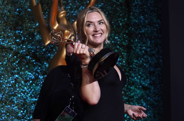 Aktorka Kate Winslet na 73. ceremonii rozdania nagród Emmy - Sputnik Polska