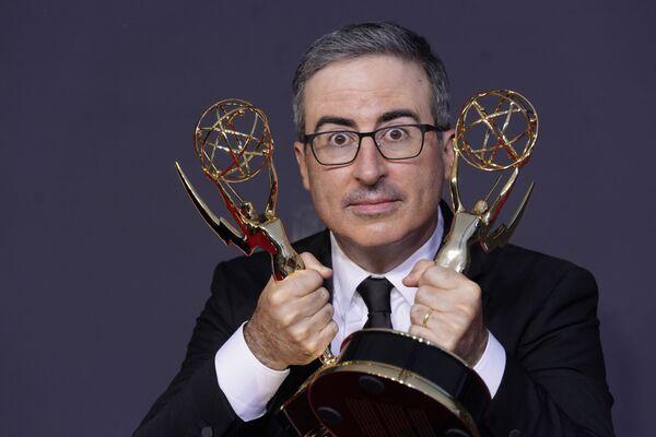 John Oliver na na 73. ceremonii rozdania nagród Emmy w Los Angeles - Sputnik Polska