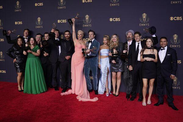 Aktorzy na 73. ceremonii rozdania nagród Emmy w Los Angeles w Kalifornii - Sputnik Polska