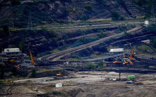 Kamieniołom w pobliżu bełchatowskiej elektrowni - Sputnik Polska