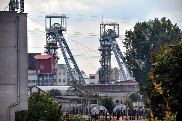 Kopalnia Węgla Kamiennego Weglokoks w Bytomiu - Sputnik Polska