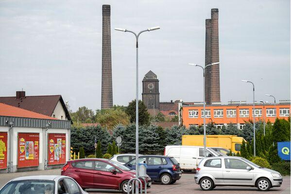 Zamknięta elektrownia węglowa w Szombierkach w Bytomiu - Sputnik Polska