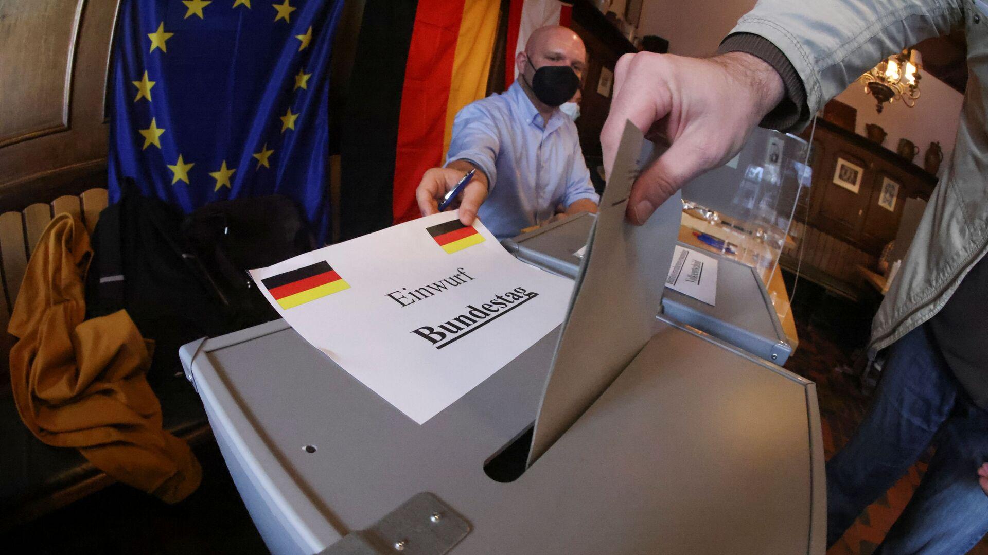 Wybory do Bundestagu, 2021 - Sputnik Polska, 1920, 26.09.2021