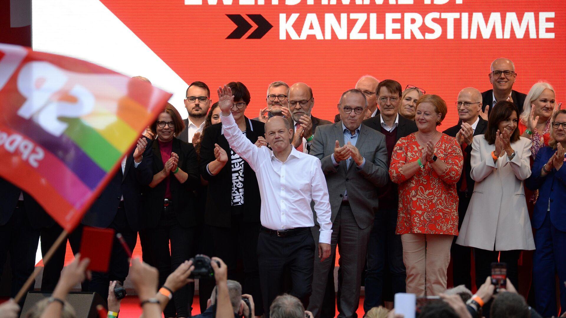 Wybory parlamentarne w Niemczech, 2021 - Sputnik Polska, 1920, 27.09.2021
