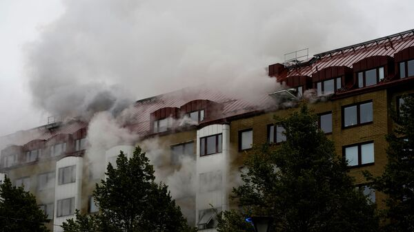 Wybuch w bloku mieszkalnym w Szwecji - Sputnik Polska