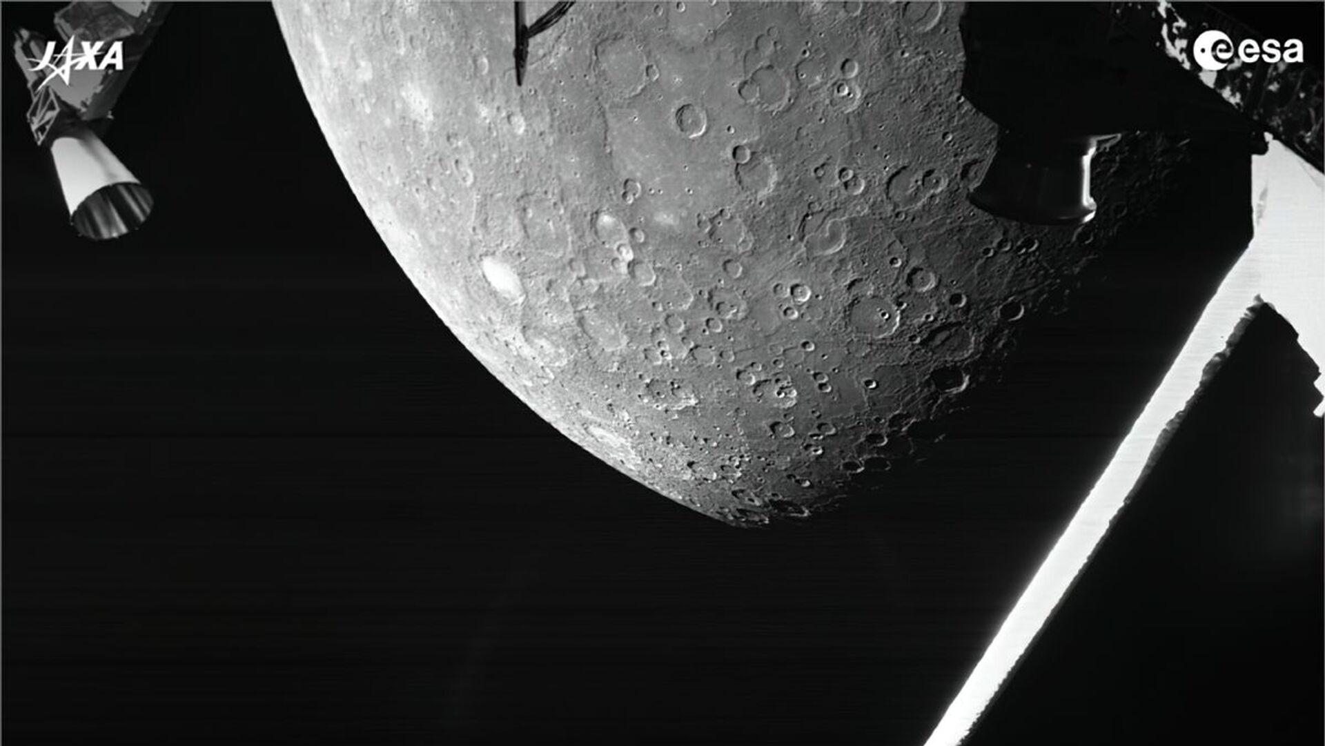 Sonda kosmiczna BepiColombo przesłała pierwsze zdjęcie Merkurego - Sputnik Polska, 1920, 02.10.2021