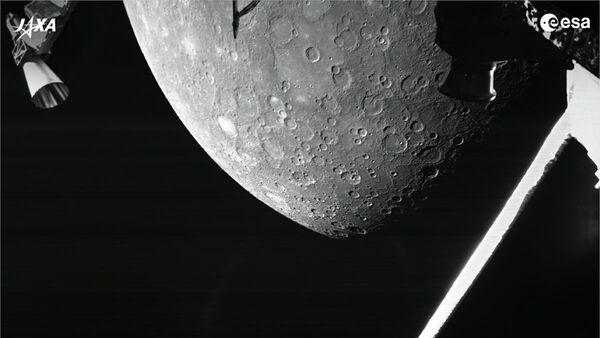 Космический зонд BepiColombo передал свое первое изображение поверхности Меркурия - Sputnik Polska