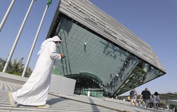 Pawilon Arabii Saudyjskiej na Wystawie Światowej Expo-2020 w Dubaju, ZEA. - Sputnik Polska