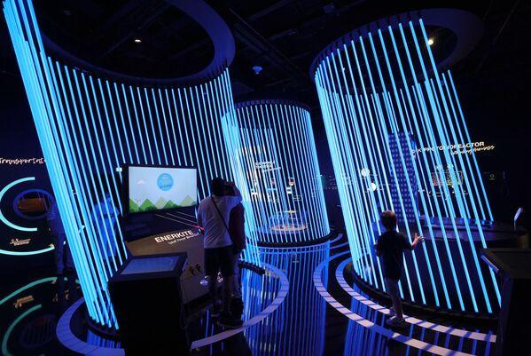 Pawilon Niemiec na Wystawie Światowej Expo-2020 w Dubaju, ZEA. - Sputnik Polska