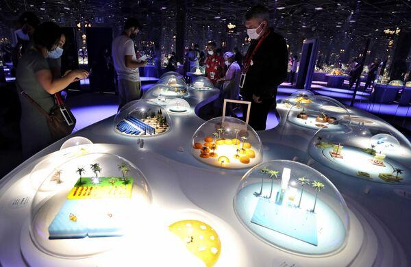 Pawilon Japonii na Wystawie Światowej Expo-2020 w Dubaju, ZEA. - Sputnik Polska