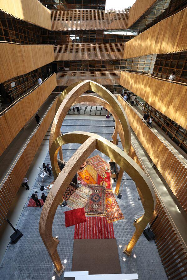 Pawilon Maroka na Wystawie Światowej Expo-2020 w Dubaju, ZEA. - Sputnik Polska