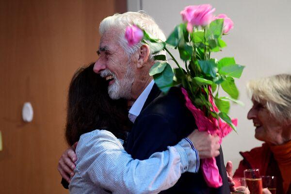 Laureat Nagrody Nobla 2021 w dziedzinie fizyki Klaus Hasselmann (Niemcy). - Sputnik Polska
