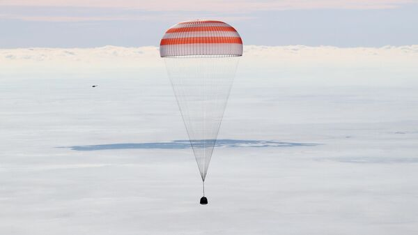 Lądowanie kapsuły statku kosmicznego Sojuz  - Sputnik Polska