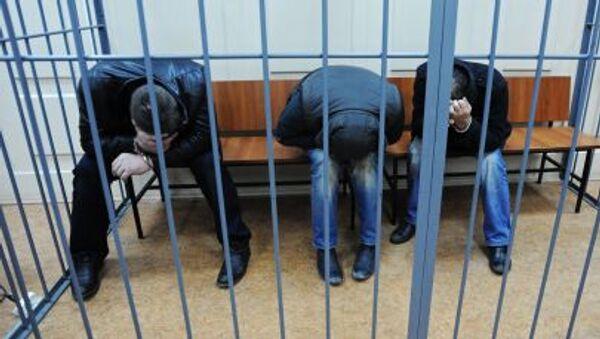 Podejrzani o zabójstwo Borysa Niemcowa w moskiewskim sądzie - Sputnik Polska