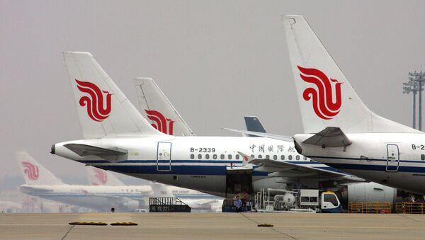 Samoloty linii lotniczej Air China - Sputnik Polska
