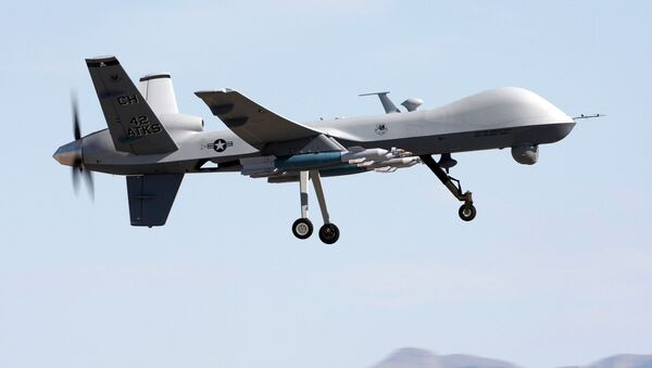 Amerykański dron rozpoznawczy MQ-9 Reaper - Sputnik Polska