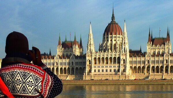 Budynek parlamentu w Budapeszcie - Sputnik Polska