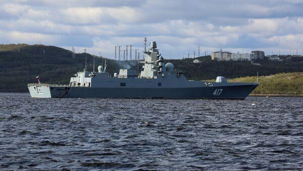 Rosyjska fregata Admirał Gorszkow - Sputnik Polska