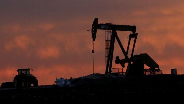 Wydobycie ropy w Texasie - Sputnik Polska
