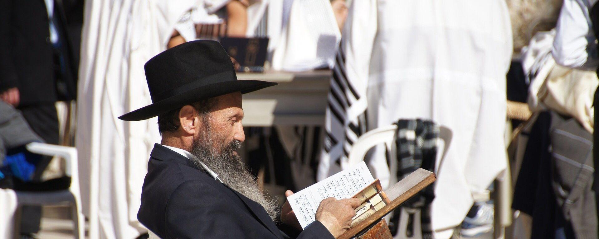 Żyd czytający książkę - Sputnik Polska, 1920, 04.07.2021