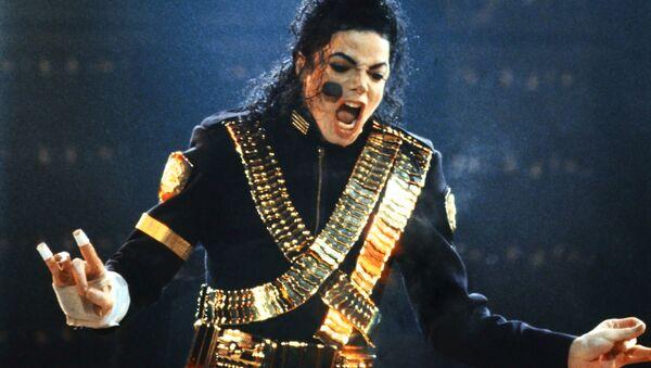 Amerykańska gwiazda popu Michael Jackson występuje na stadionie Łużniki w Moskwie w 1993 roku - Sputnik Polska
