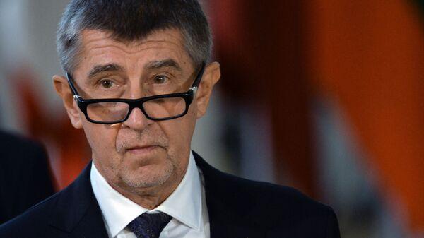 premier Czech Andrej Babiš - Sputnik Polska