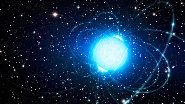 Artystyczne wyobrażenie magnetara - Sputnik Polska