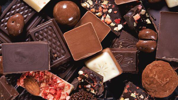 Czekolada, kawałki czekolady - Sputnik Polska