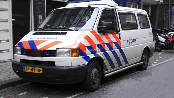 Wóz policyjny, Holandia - Sputnik Polska