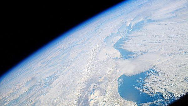 Widok na Kamczatkę z Międzynarodowej Stacji Kosmicznej - Sputnik Polska