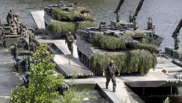 Szkolenia NATO na Litwie - Sputnik Polska