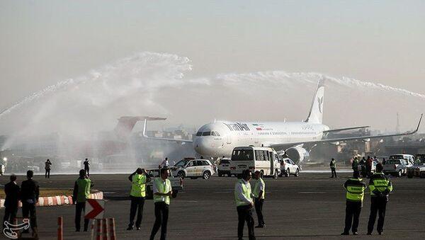 Lotnisko w Teheranie - Sputnik Polska