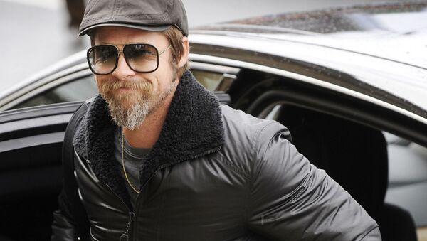 Aktor amerykański Brad Pitt - Sputnik Polska