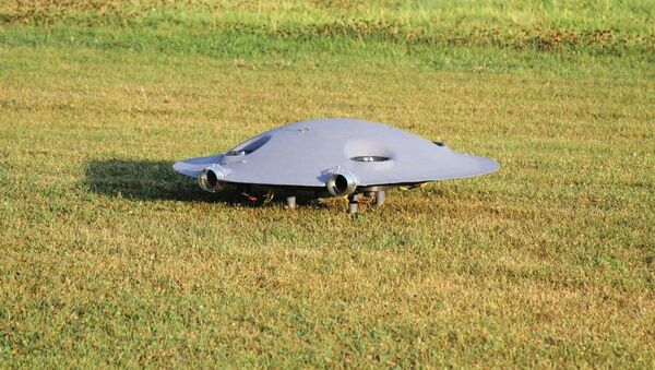 """Prototypowy naddźwiękowego """"latającego spodka"""" rumuńskiej firmy ADIFO Aircraft - Sputnik Polska"""
