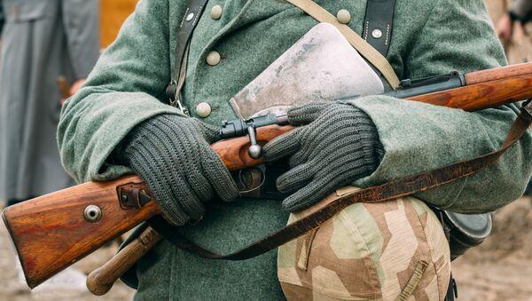 Zrekonstruowany mundur niemieckiego żołnierza II wś - Sputnik Polska