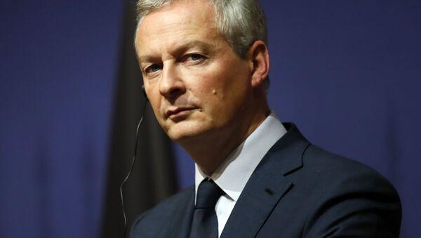 Minister gospodarki i finansów Francji Bruno Le Mayor - Sputnik Polska