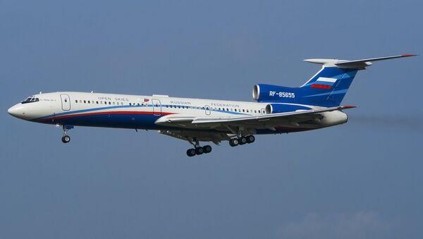 Rosyjski samolot Tu-154M-LK-1 - Sputnik Polska
