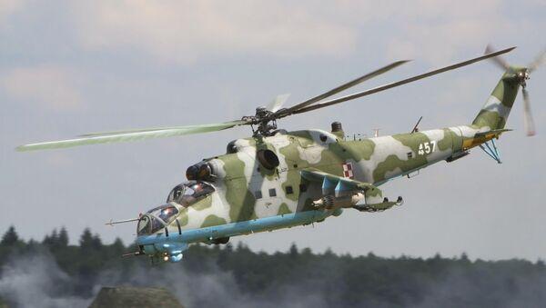 Śmigłowiec Mi-24 - Sputnik Polska
