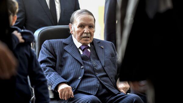 Algierski prezydent Abdelaziz Bouteflika - Sputnik Polska