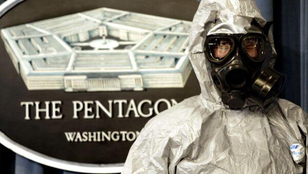 Waszyngton zamówił w firmie Avon Protection Systems partię masek przeciwgazowych  - Sputnik Polska